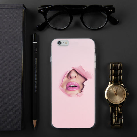 Pink Face iPhone Case - Bentley York