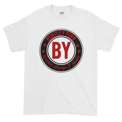 Bentley York BY Circle White Short-Sleeve T-Shirt - Bentley York