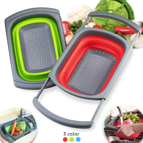 Kitchen Colander Fruit Vegetable Washing Basket