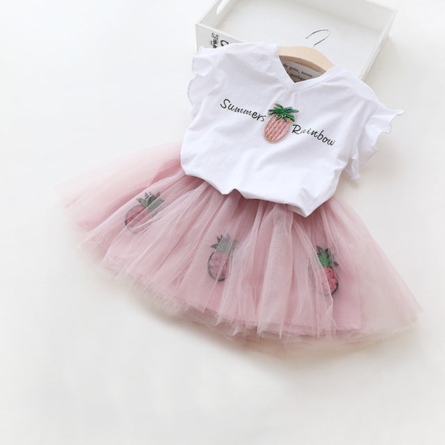 Kids Clothes Summer Children Clothing Sets 2 Pcs