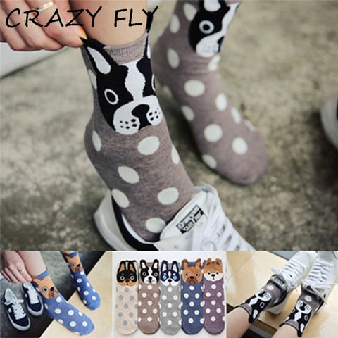 2019 Women Socks Cartoon Animal Series