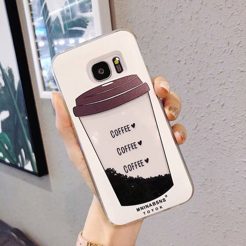 Cell Phone Case Samsung Coffee Cup