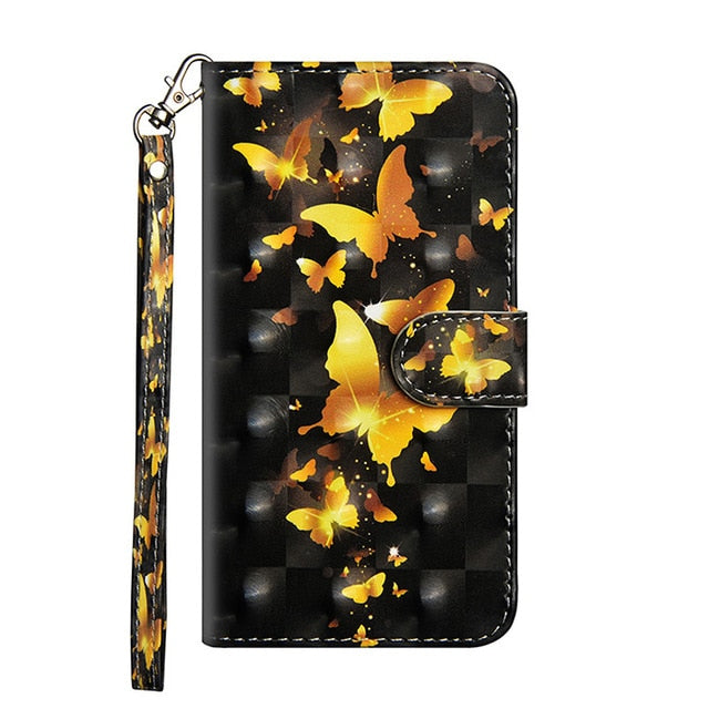 Luxury Flip Phone Samsung Case Leather