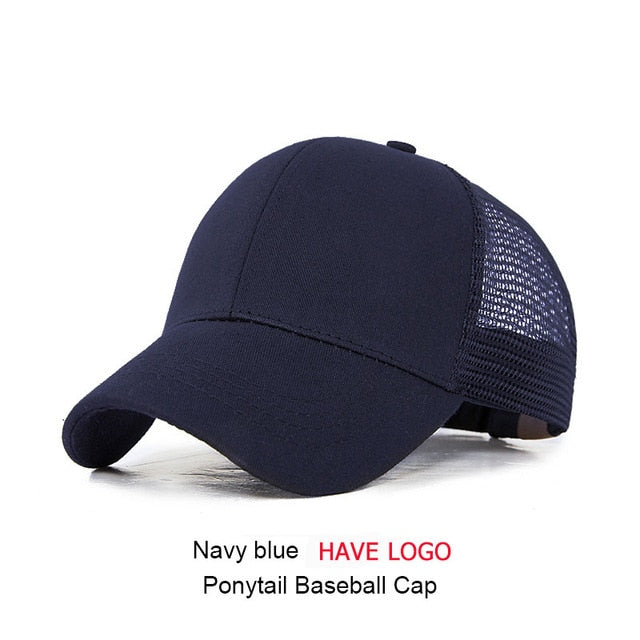 URDIAMOND 2019 Ponytail Baseball Cap Women Messy Bun Snapback Summer Mesh Hats Casual Sport Sequin Caps Drop Shipping Hat Cap - Bentley York