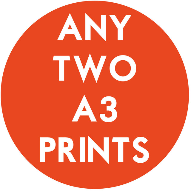 Any Two A3 Prints