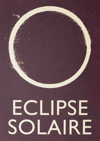 Eclipse Solaire Screenprint
