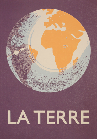 La Terre Screenprint