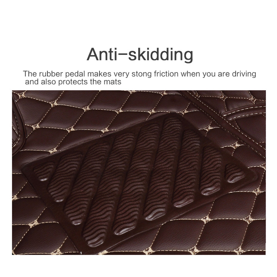 Custom Fit Luxury Leather Car Mat Set Rad Little Things
