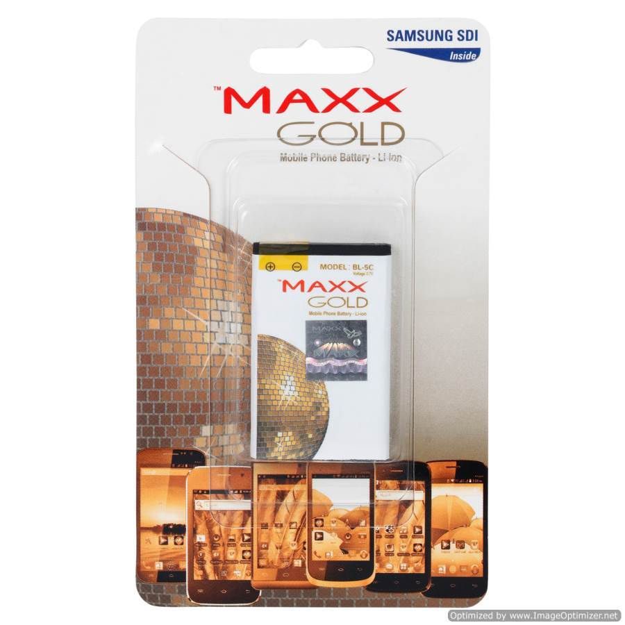 MAXX GOLD BATTERY BL4C