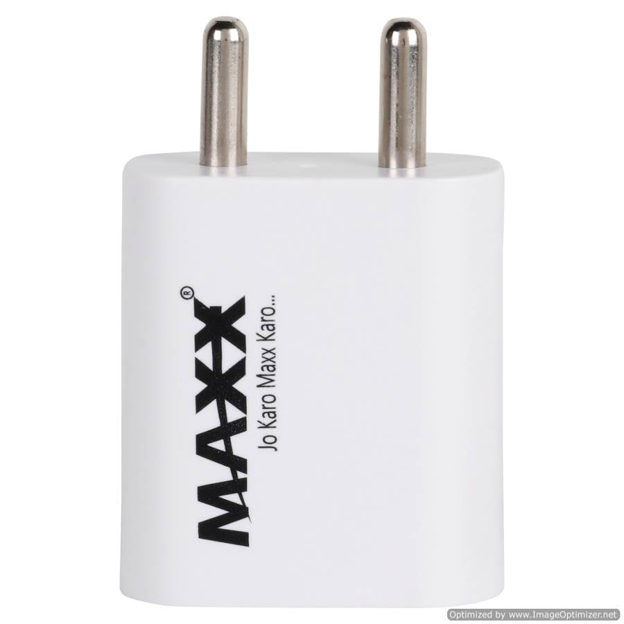 Maxx SHREEM I-5V-2A-1USB Fast Mobile Charger (Adaptor) for Smart Phones ,Compatible with VIVO,OPPO,MI,SAMSUNG