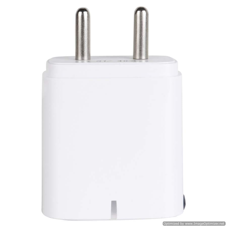 Maxx SHREEM VI-5V-2A-2USB Fast Mobile Charger (Adaptor) with Charging Cable,white for Smart Phones ,Compatible with Apple,VIVO,OPPO,MI,SAMSUNG