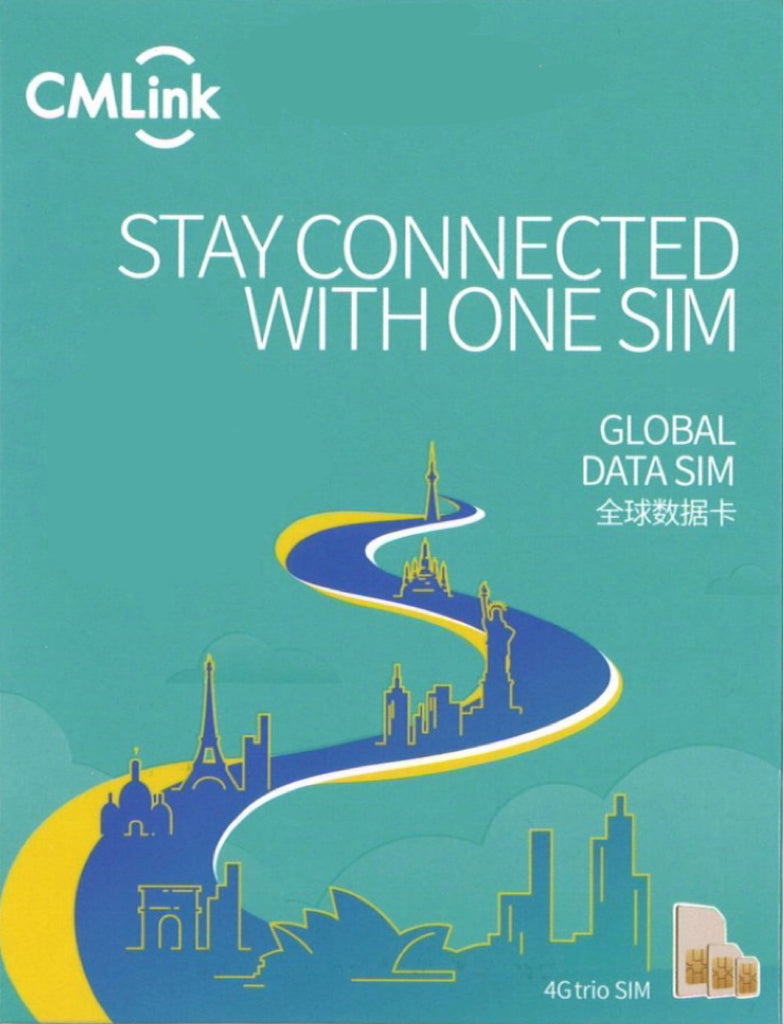 Cmlink Europe 15 Days Unlimited Data (40 Countries)