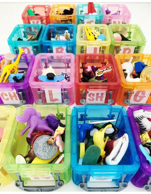 Mini Objects for Articulation Speech Therapy INDIVIDUAL BOXES