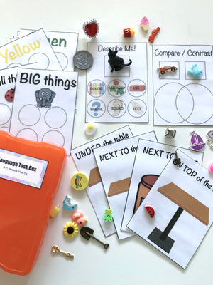 Language Task Box