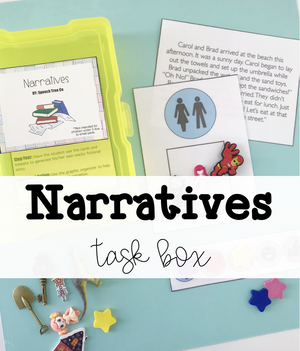 Narratives Grab and Go Kit with Mini Objects