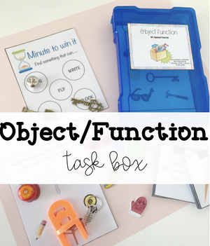 Object function and Go Togethers