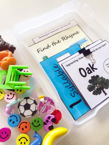 mini objects for phonological awareness