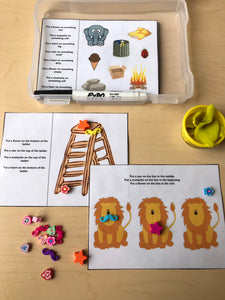 Basic Concepts Activites Mini Objects For Speech Therapy