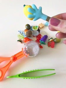 fine motor tools tongs