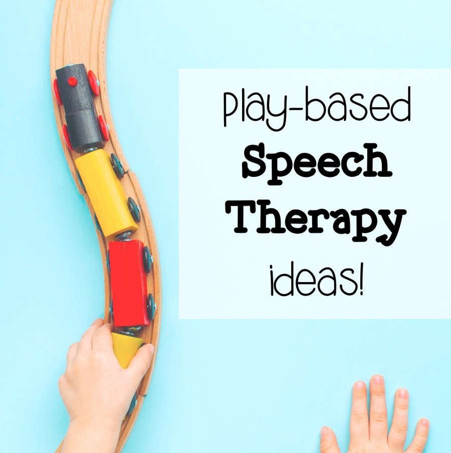 Play-Based Articulation Therapy Ideas by Sound