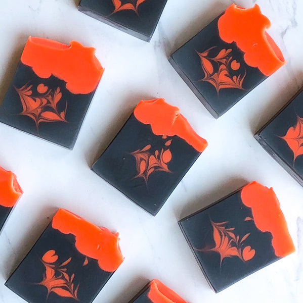 Orange Patchouli - Handmade Handcrafted artisan soap Nath Soap Company, LLC
