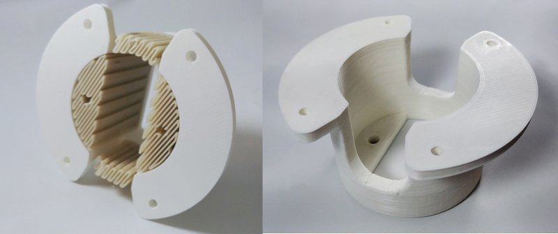SnapSupport™ breakaway material made with 3D450 from NatureWorks™