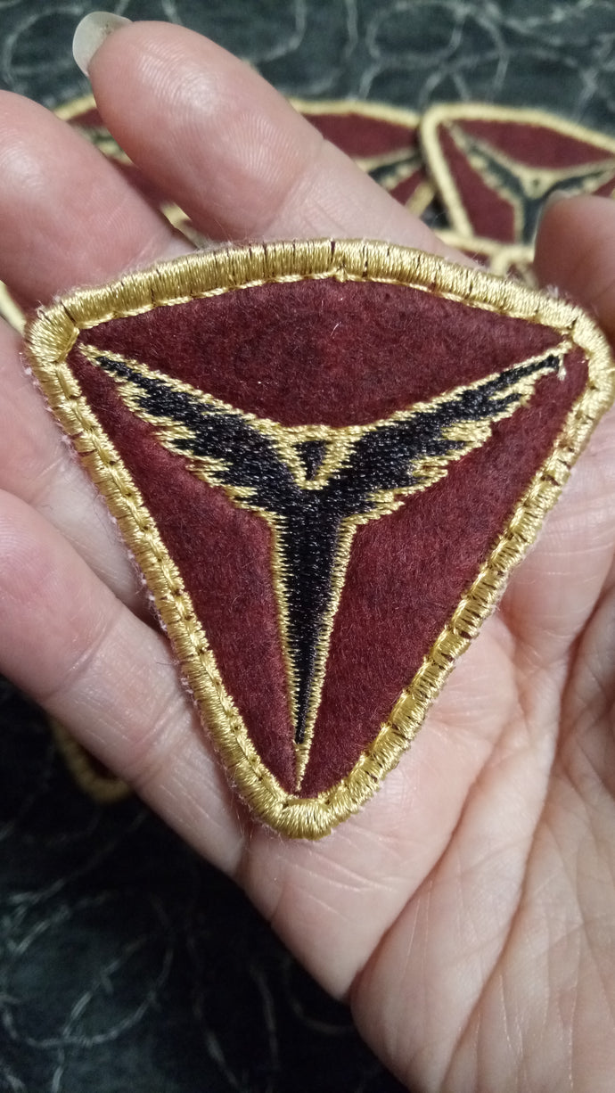 Tomb Raider- Trinity order patch (inspired by source material)