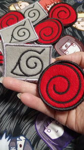 Naruto Patches (inspired by source material)