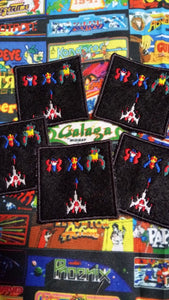 Galaga patch (inspired by source material)