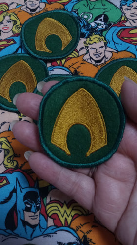 Aquaman patch (inspired by source material)