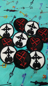 Kingdom heart patches (inspired by source material)