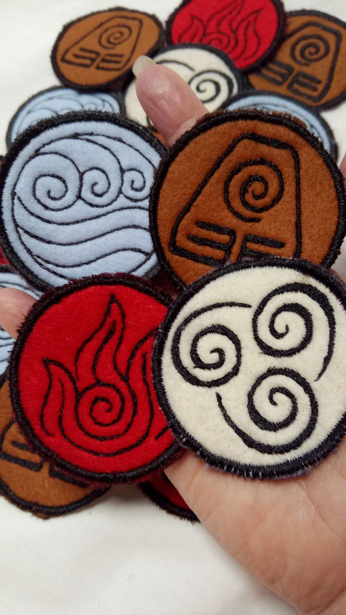 Last Airbender patches (inspired by source material)