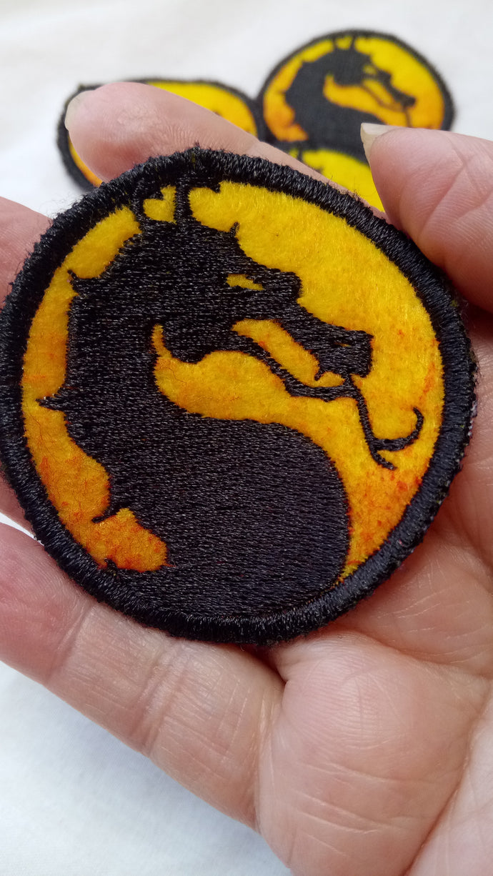Mortal Kombat patch (inspired by source material)