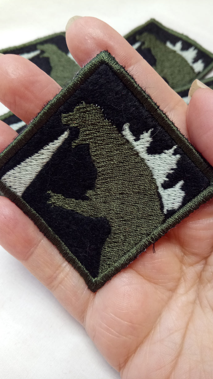 Godzilla patch- glows in the dark (inspired by source material)