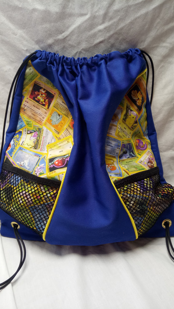 Pokemon cards backpack (inspired by source material)