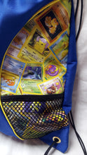 Load image into Gallery viewer, Pokemon cards backpack (inspired by source material)
