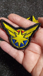 Captain Marvel patch