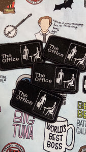 The Office Patch (inspired by source material)