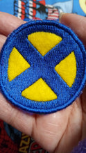Load image into Gallery viewer, X-MEN patch-blue and yellow (inspired by source material)