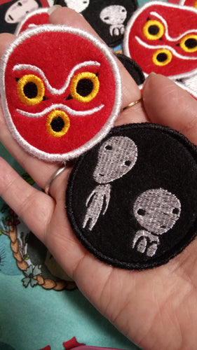 Princess Mononoke patches (inspired by source material)