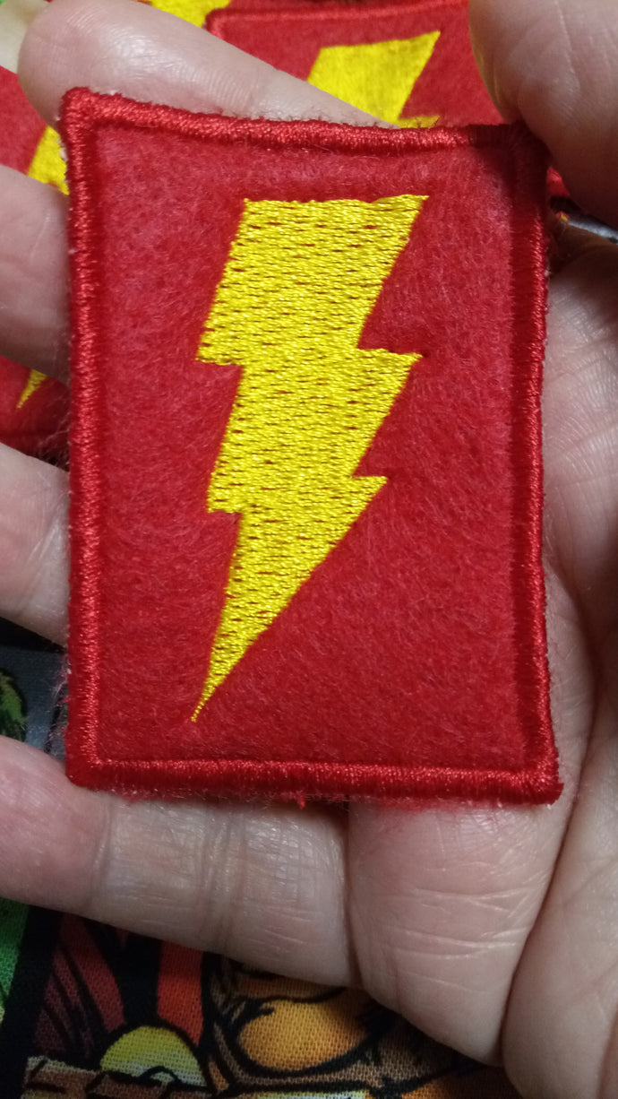Shazam patch (inspired by source material)