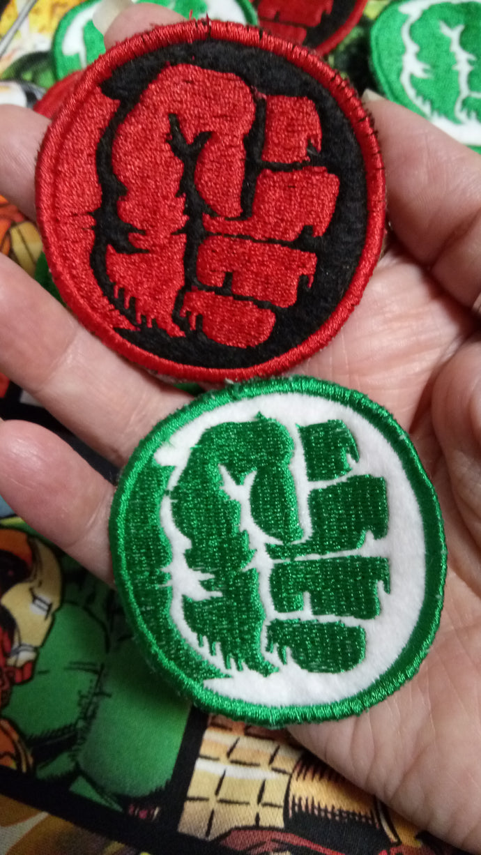 Hulk patches (inspired by source material)