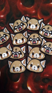 Aggretsuko patch set (inspired by source material)