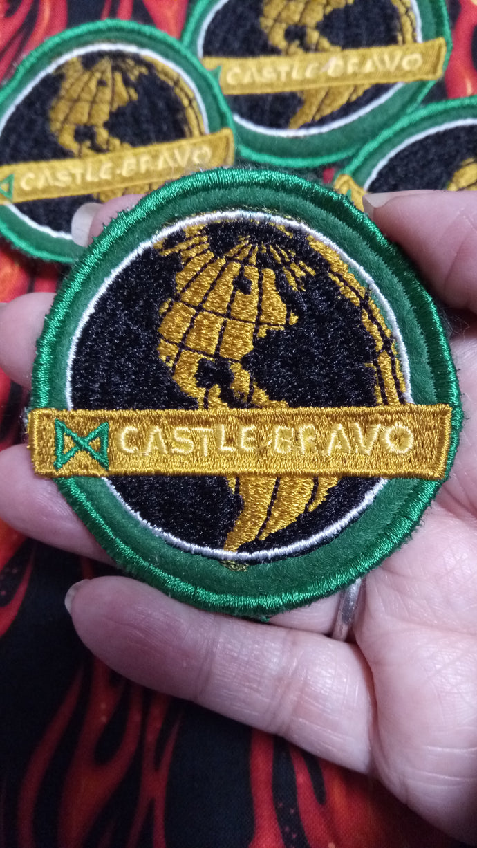 Castle Bravo--Godzilla Patch (inspired by source material)