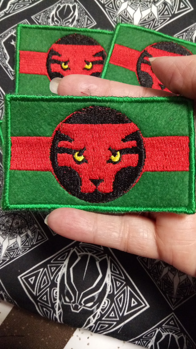 Wakanda flag patch (inspired by source material)