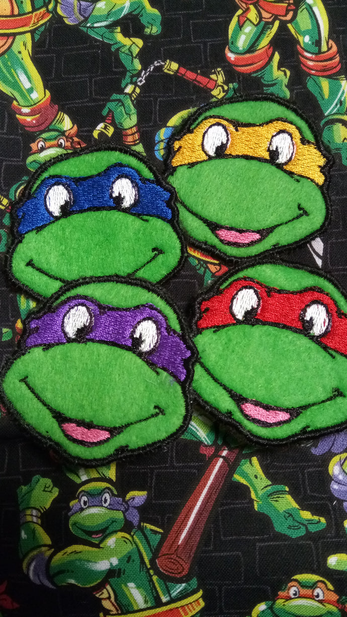 TMNT patch set ( inspired by source material)