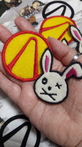 Borderlands patch set (inspired by source material)