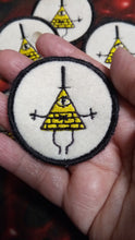 Load image into Gallery viewer, Bill Cipher patch (inspired by source material)