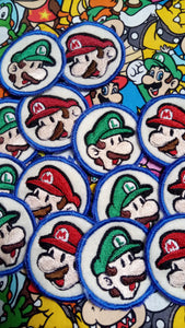Paper Mario and Luigi patch set (inspired by source material)