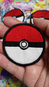 Pokeball patch (inspired by source material)